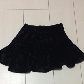 バックナンバー(BACK NUMBER)のBACK NUMBER KIDS ベロア スカート 100(スカート)