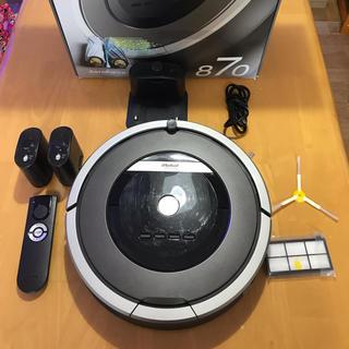 アイロボット(iRobot)のルンバ870(掃除機)