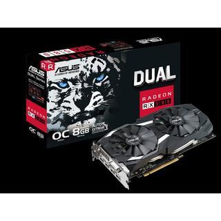 エイスース(ASUS)のASUS Radeon RX580 8GB 新品 DUAL-RX580-O8G(PCパーツ)