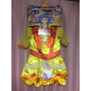 バンダイ(BANDAI)の魔法使いプリキュア キュアマジカルトパーズ 変身プリチューム(衣装)