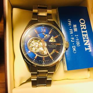 オリエント(ORIENT)のオリエントスター 限定スペシャルエディション 定価8万税別 スケルトン腕時計(腕時計(アナログ))