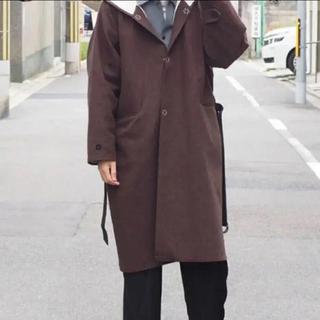 サンシー(SUNSEA)のSUNSEA W FACE WOOL JEDI COAT 17aw(その他)