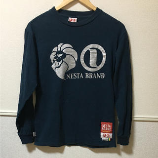 ネスタブランド(NESTA BRAND)の値下げ!ネスタブランド   ビックロゴ   長袖(Tシャツ/カットソー(七分/長袖))