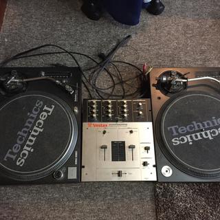 オーディオテクニカ(audio-technica)のDJセット ターンテーブル ミキサー テクニクス ベスタクス (ターンテーブル)