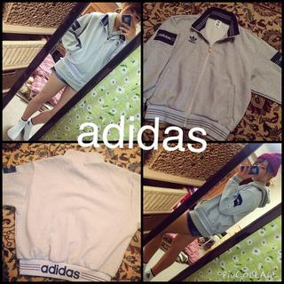 アディダス(adidas)のadidas パーカー ジャージ レア!(パーカー)