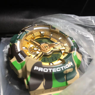 A BATHING APE - A BATHING APE x G-SHOCK GA-110 BAPE 25TH
