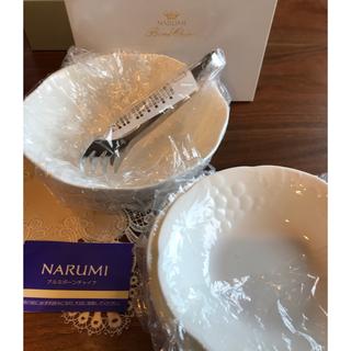 ナルミ(NARUMI)の【新品未使用】NARUMI サラダボウル&皿セット(食器)
