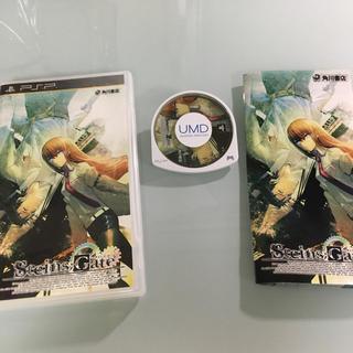 プレイステーションポータブル(PlayStation Portable)のシュタインズ・ゲート PSP(携帯用ゲームソフト)