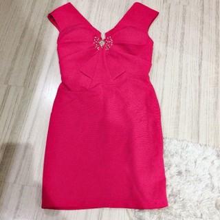 デイジーストア(dazzy store)のキャバドレス ピンク(ナイトドレス)