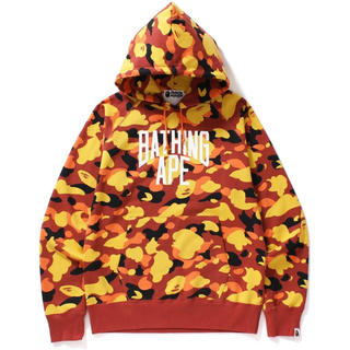 A BATHING APE - Bape NYC hooded Sweatershir Camo L