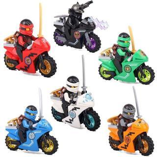 忍者ゴー バイク 6体セットとバイクセット(その他)