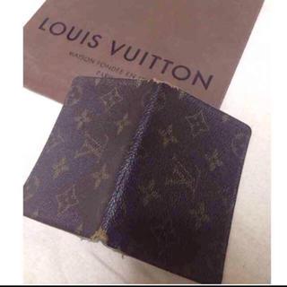 ルイヴィトン(LOUIS VUITTON)の美品✨ ルイヴィトン カードケース 定期入れ 名刺入れ モノグラム(名刺入れ/定期入れ)