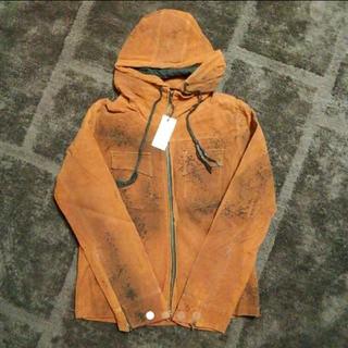 タカキュー(TAKA-Q)のTAKA-Q ペイント加工 合成皮革 ジャケット(ブルゾン)