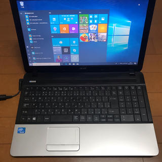 エイサー(Acer)の新品SSD付で美品‼️ 1.8GHz 6GB / 120GB Office付(ノートPC)