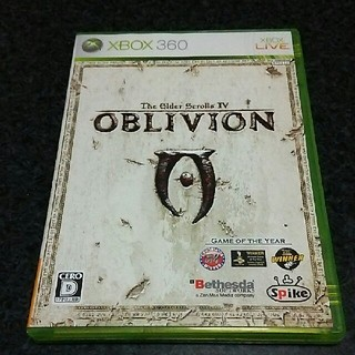 エックスボックス360(Xbox360)のxbox360 OBLIVION  (家庭用ゲームソフト)