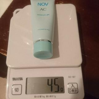 ノブ(NOV)のNOV AC トライアルセットと保湿ジェル(サンプル/トライアルキット)