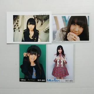 エーケービーフォーティーエイト(AKB48)の柏木由紀★非売品ポストカード&特典写真3枚(アイドルグッズ)