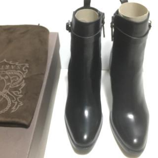 サルトル(SARTORE)の新品  36.5 SARTORE ショートブーツ  黒(ブーツ)