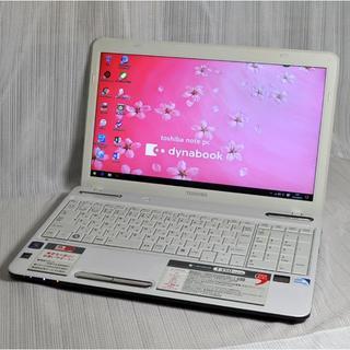 トウシバ(東芝)のメチャ美品/高速 Pentium/4G/320G/Office2016/1338(ノートPC)