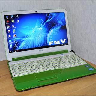 フジツウ(富士通)の高速 i5/ブルーレイ/フォトショップ/4G×750GB/1340(ノートPC)