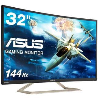 エイスース(ASUS)のASUS ゲーミングモニター ディスプレイ VA326H 31.5インチ(ディスプレイ)