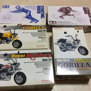 計5点 ネイキッドバイク 3点  ライダー人形キット 2点(プラモデル)