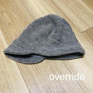 オーバーライド(override)のオシャレニット帽(ニット帽/ビーニー)