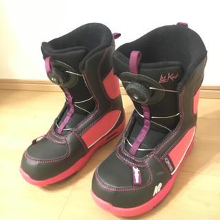 ケーツー(K2)のK2 20cm スノボ ブーツ ジュニア 女の子(ブーツ)