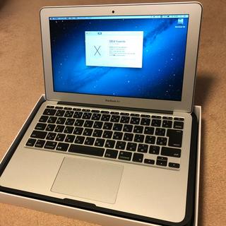 アップル(Apple)のMacBookAir 希少な11インチ Core i7 充電24回 美品(ノートPC)