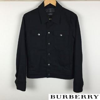 バーバリーブラックレーベル(BURBERRY BLACK LABEL)の新品同様品 BURBERRY BLACK LABEL デニムジャケット ブラック(Gジャン/デニムジャケット)