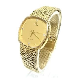 シーマ(CYMA)の稼働品「CYMA」腕時計 (腕時計(アナログ))