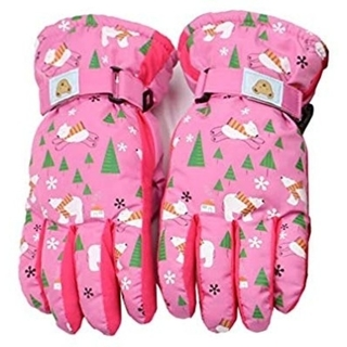 X.A スキーグローブ キッズ 子供用 スノボーグローブ 手袋 防寒 撥水 防風(ウエア/装備)