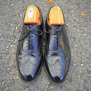 アレンエドモンズ(Allen Edmonds)の美品❗️アメリカ名門《Allen Edmonds》7D(ドレス/ビジネス)