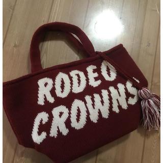 ロデオクラウンズワイドボウル(RODEO CROWNS WIDE BOWL)のロデオ ミニトート ニットハンドバッグ(ハンドバッグ)