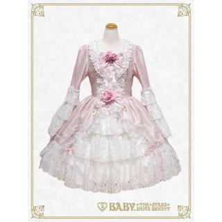 ベイビーザスターズシャインブライト(BABY,THE STARS SHINE BRIGHT)の定価64,800円新品未使用♡BABY icing princess ドレス(ひざ丈ワンピース)