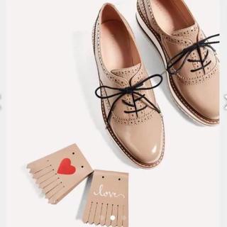 ザラ(ZARA)の新品未使用品 Z A R A ブルーチャーエナメルシューズ(ローファー/革靴)