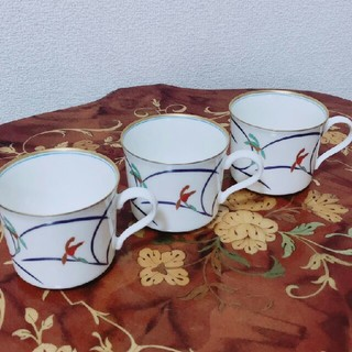 コウランシャ(香蘭社)の香蘭社 カップ 3個(食器)