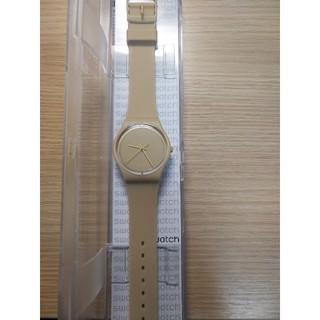 スウォッチ(swatch)の美品 スウォッチ ベージュ 腕時計(腕時計)