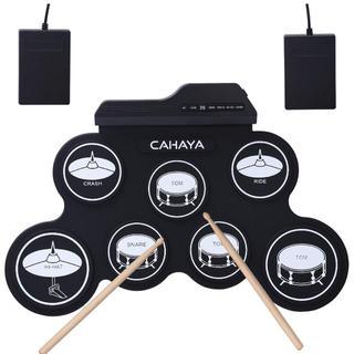電子ドラム ポータブル 五種類のドラム音色組 メトロノーム機能(電子ドラム)