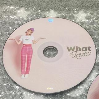 ウェストトゥワイス(Waste(twice))のTWICE ジョンヨン What is love?CD(K-POP/アジア)