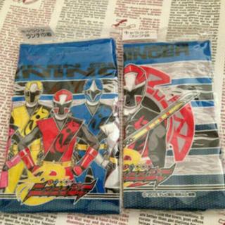バンダイ(BANDAI)のニンニンジャー ランチ巾着とコップ袋セット 新品 送料込(ランチボックス巾着)