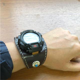 ジーショック(G-SHOCK)のG-SHOCK  本革レザーバンド/DW9000(腕時計(デジタル))