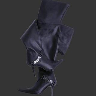 アリスアウアア(alice auaa)のalice auaa  アリスアウアア ニーハイブーツ 25cm(ブーツ)