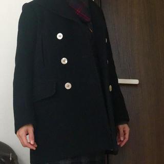 オペーク(OPAQUE)のオペーク Pコート ピーコート 黒36(ピーコート)