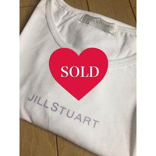 ジルスチュアート(JILLSTUART)の【JILL STUART】ジルスチュアート ロゴTシャツ(Tシャツ(半袖/袖なし))
