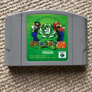 ニンテンドウ64(NINTENDO 64)のNintendo64 マリオゴルフ(家庭用ゲームソフト)