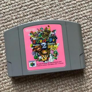 ニンテンドウ64(NINTENDO 64)のNintendo64 マリオパーティー2(家庭用ゲームソフト)