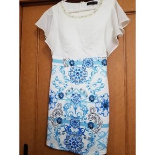 デイジーストア(dazzy store)のキャバドレス ブルー(ナイトドレス)