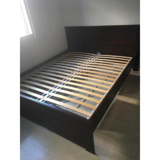 イケア(IKEA)のIKEA すのこ LUROY ベットベース(すのこベッド)