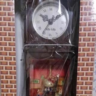 ハローキティ(ハローキティ)のハローキティの古時計(置時計)